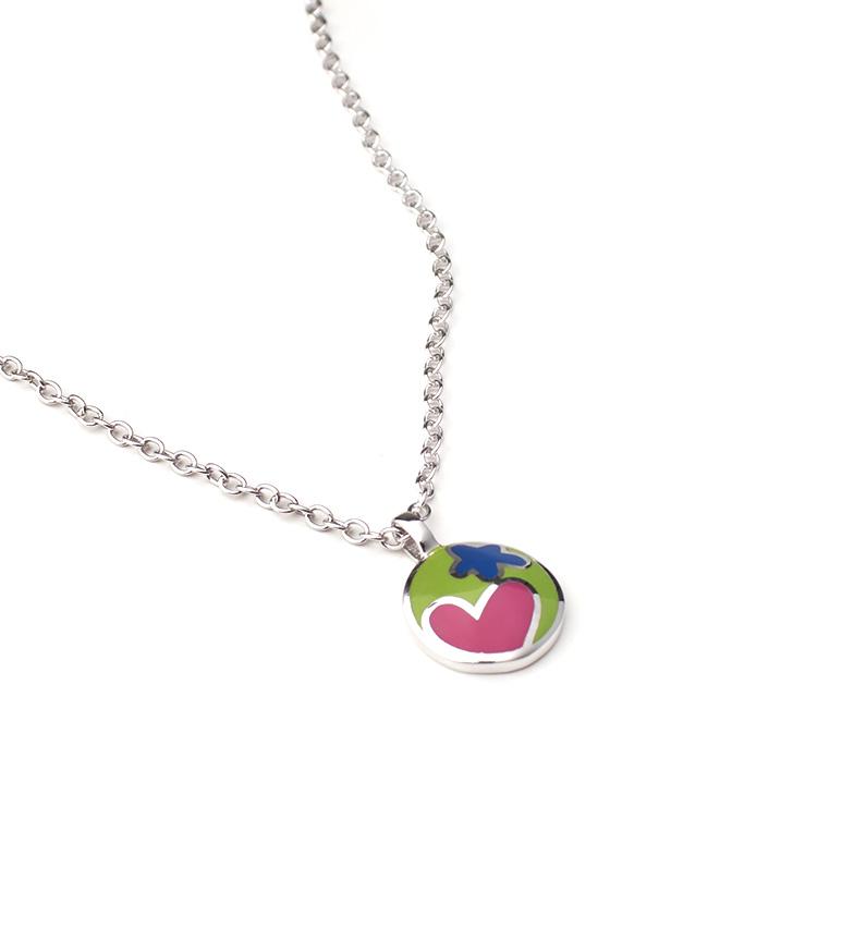 Comprar Agatha Ruiz De La Prada Collar de plata Botón