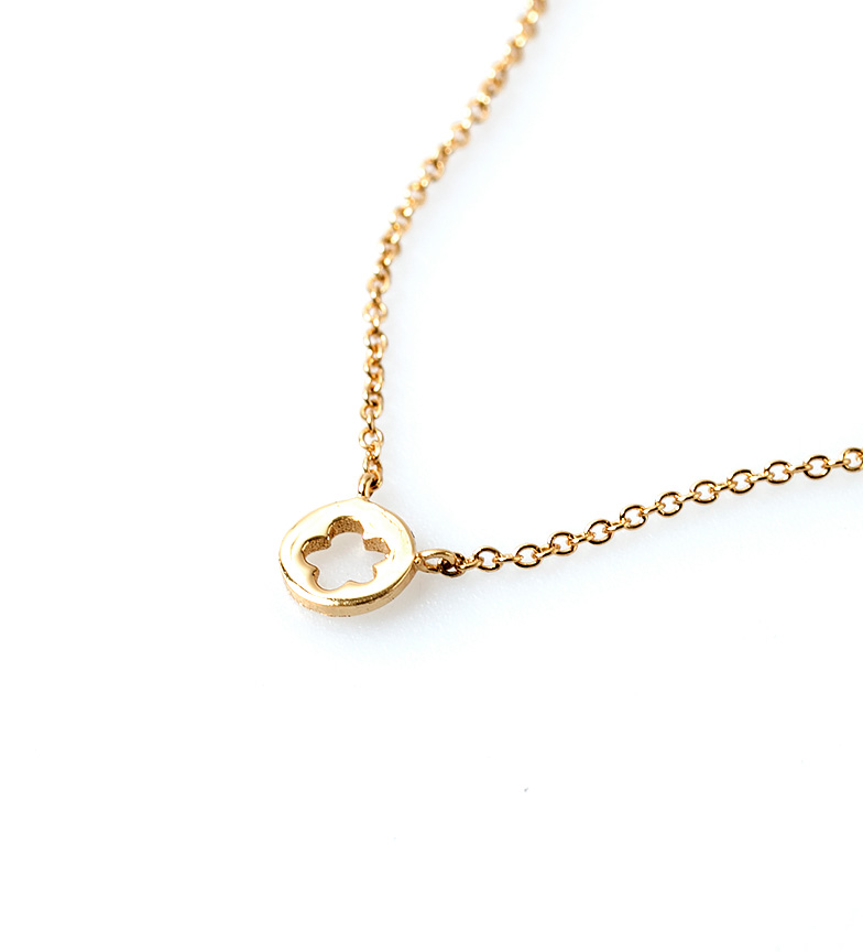 Comprar Agatha Ruiz De La Prada Diana prata colar de Flora