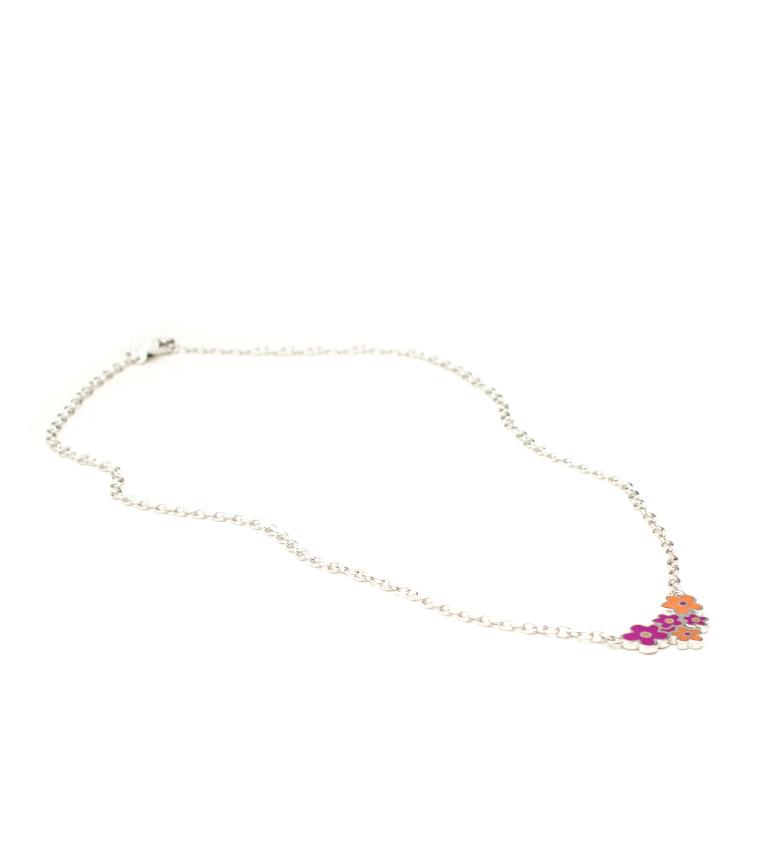 Comprar Agatha Ruiz De La Prada Silver necklace Flowers