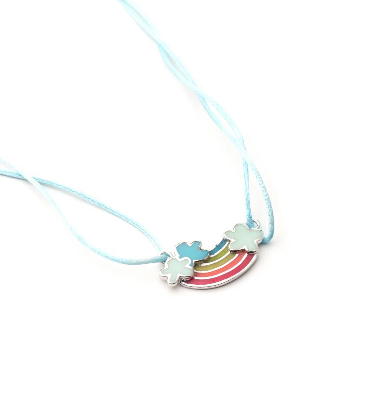 Comprar Agatha Ruiz De La Prada Collar de plata, raso Arco Iris
