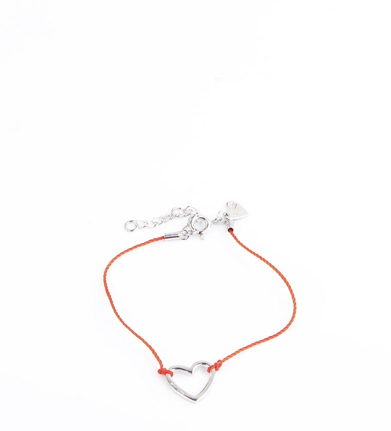 Comprar Agatha Ruiz De La Prada Silver Necklace, Satin Heart