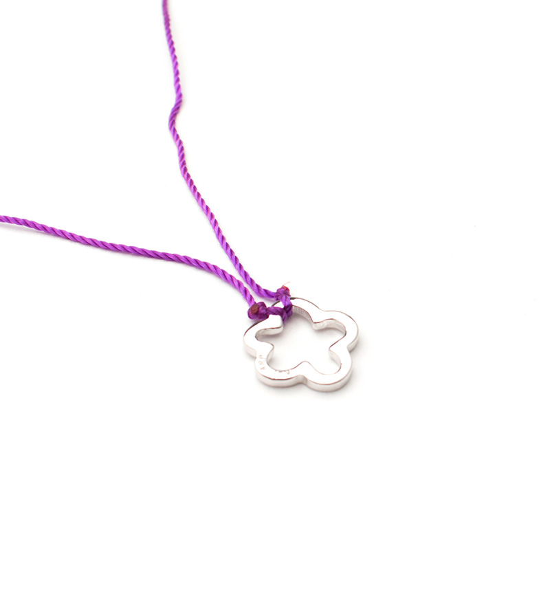 Comprar Agatha Ruiz De La Prada Collar de plata, raso Nube