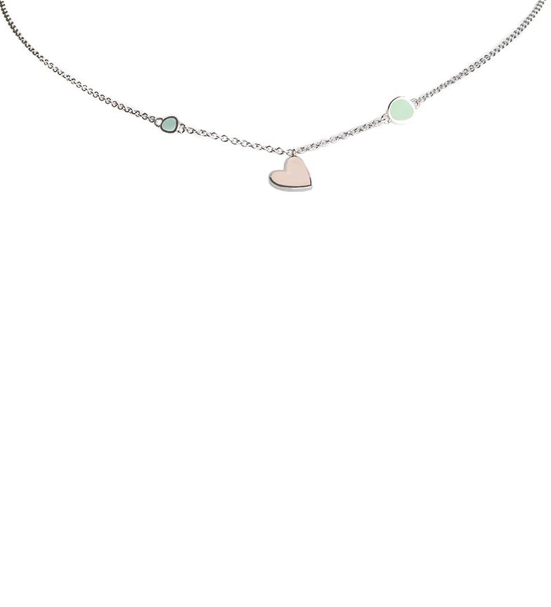 Comprar Agatha Ruiz De La Prada Necklace Jana Heart silver