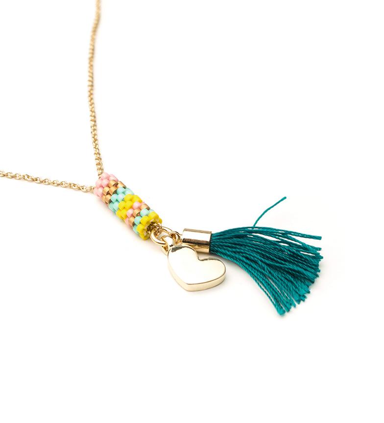 Comprar Agatha Ruiz De La Prada Collar Nipo dorado, verde