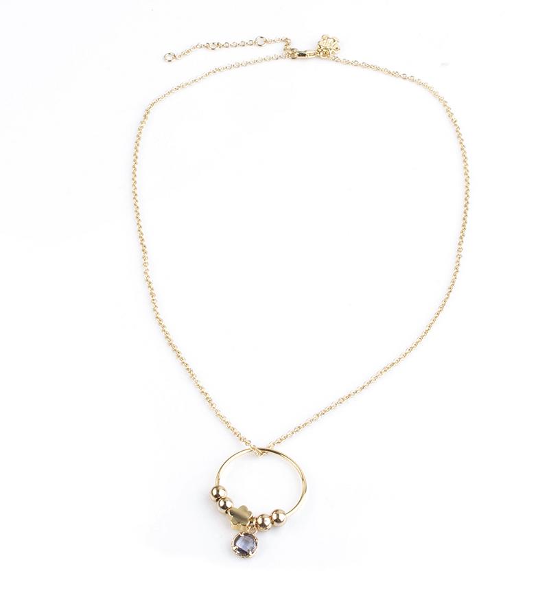 Comprar Agatha Ruiz De La Prada Stela gold necklace