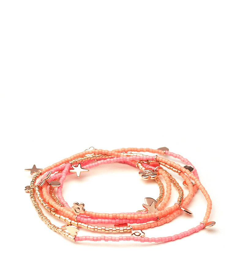 Comprar Agatha Ruiz De La Prada Pink Yuki Necklace