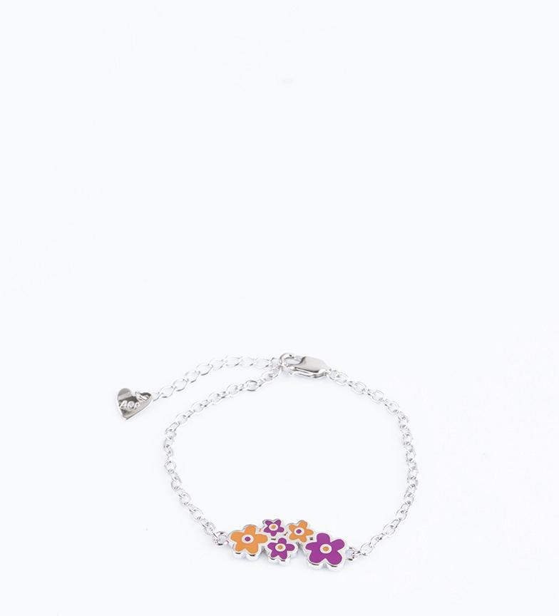 Comprar Agatha Ruiz De La Prada Collier en argent Fleurs