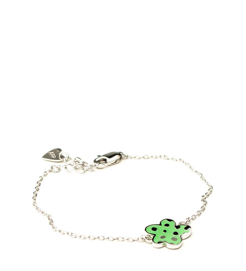 Comprar Agatha Ruiz De La Prada Pulsera de plata Nube verde