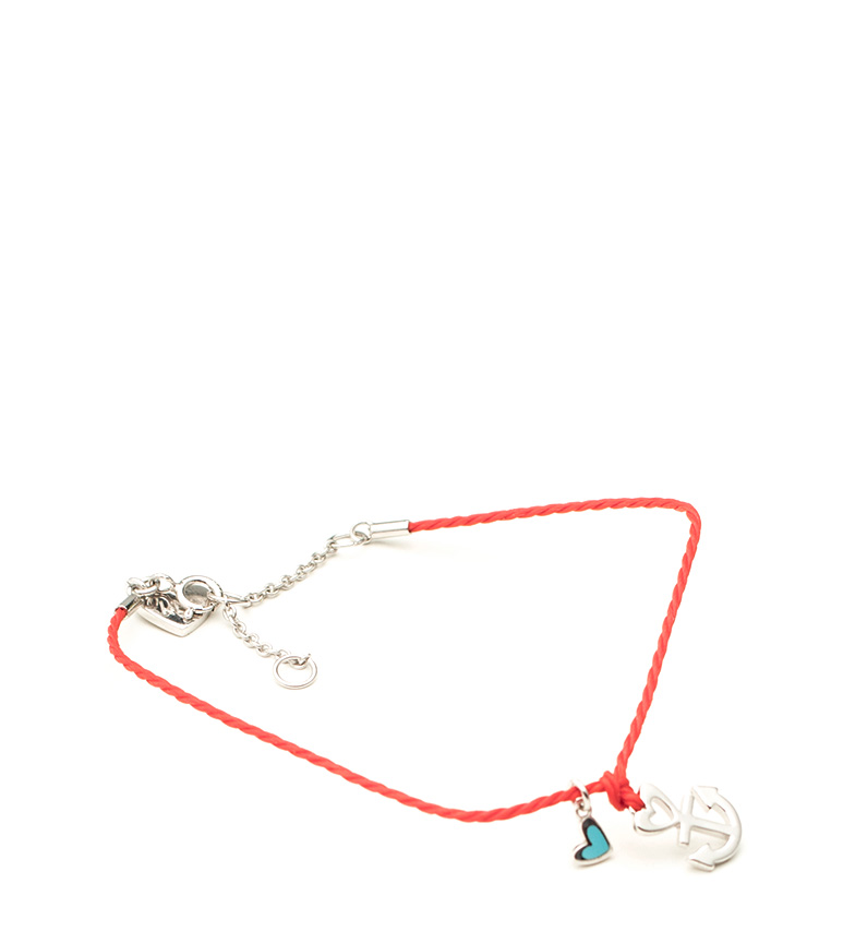 Comprar Agatha Ruiz De La Prada Summer silver red bracelet