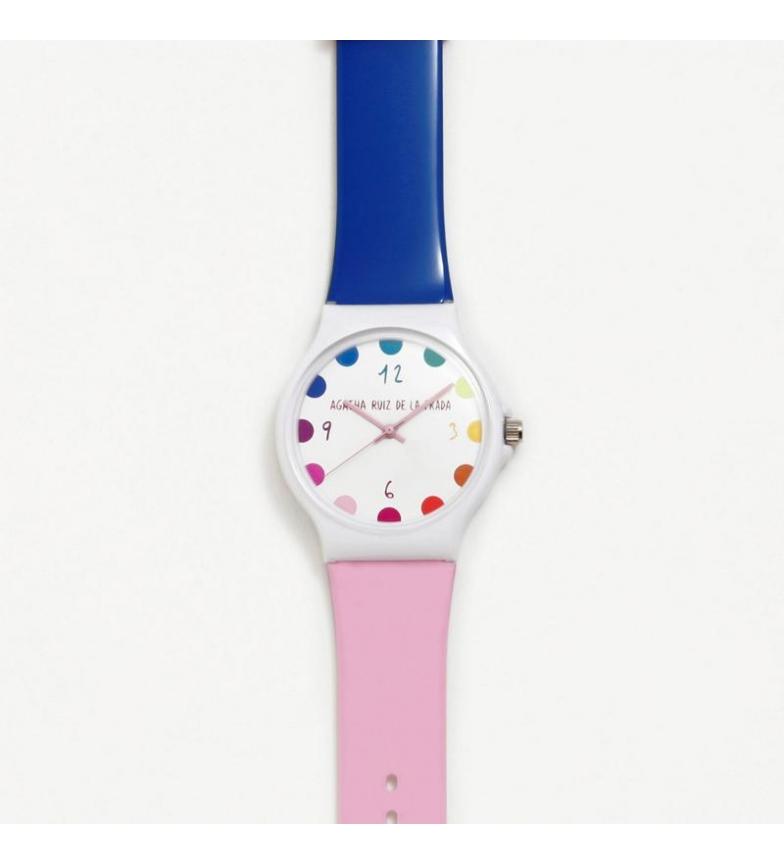 Comprar Agatha Ruiz De La Prada Relógio analógico Big Flip azul, rosa