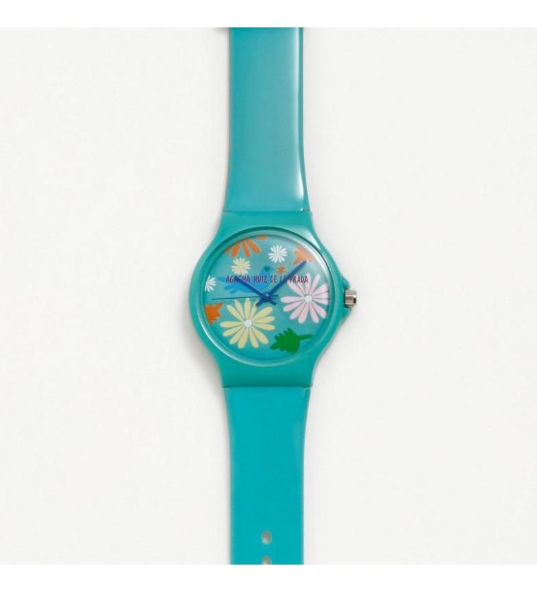 Comprar Agatha Ruiz De La Prada Big Flip Turquoise Analog Watch