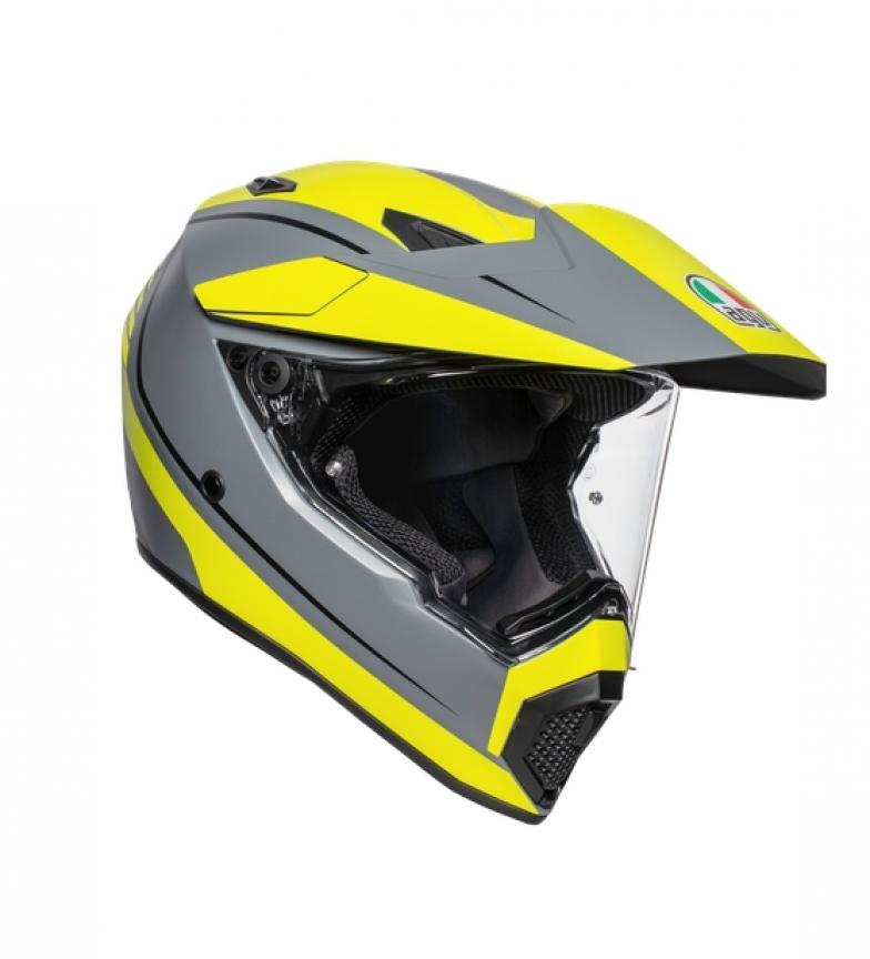 Comprar Agv AX9 Multi integral helmet grey, yellow -Pinlock