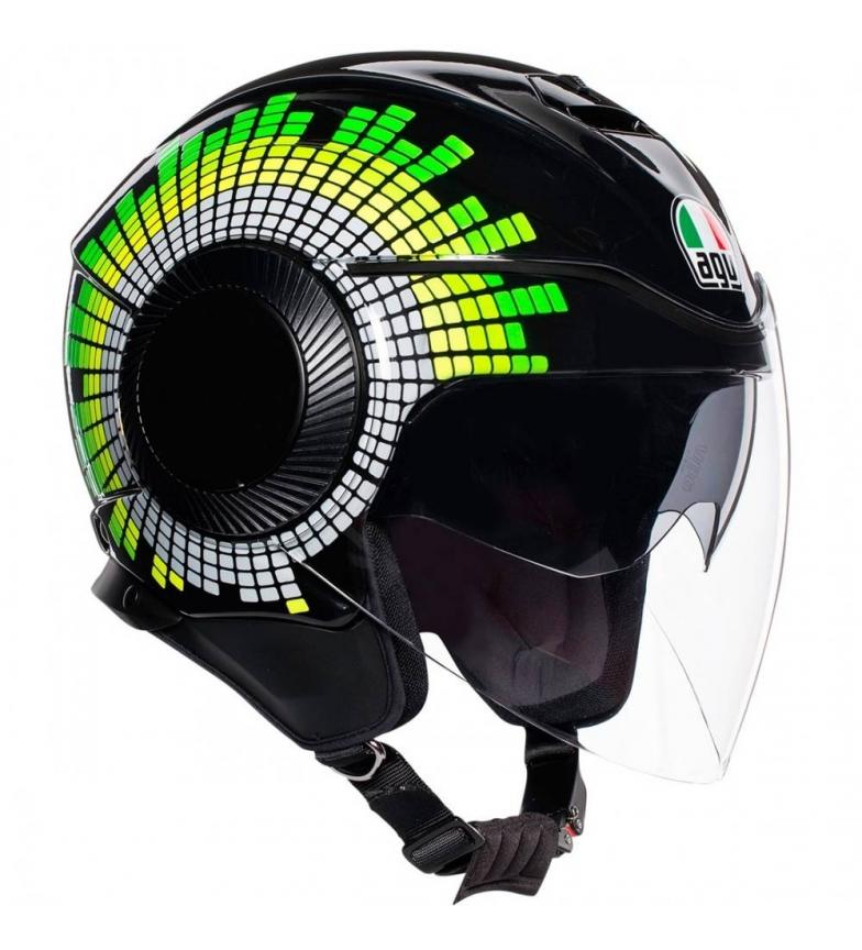 Comprar Agv Orbyt Ginza casco jet nero, giallo, giallo, verde