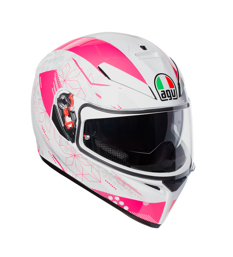 Comprar Agv Capacete facial K-3 SV Izumi branco, rosa -Pinlock-