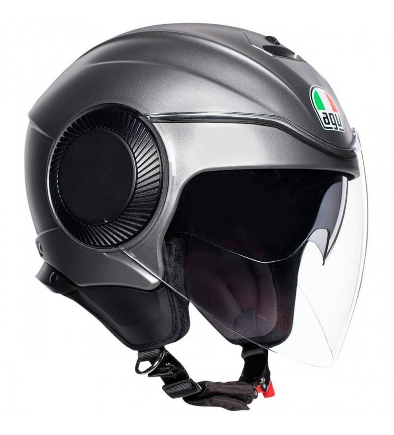 Comprar Agv Orbyt jet capacete cinzento mate