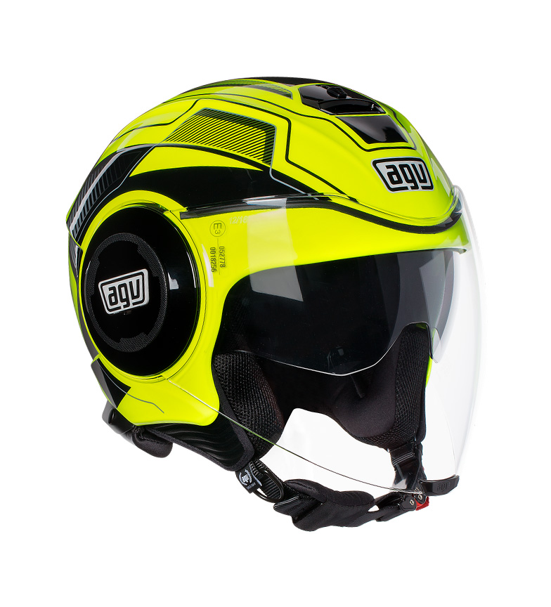 Comprar Agv Jet helmet Fluid soho yellow, black