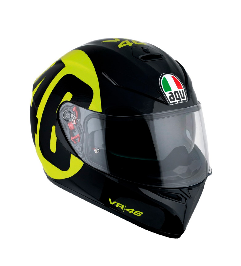 Comprar Agv Casco integral K-3 SV Bollo 46 black, yellow -Pinlock-