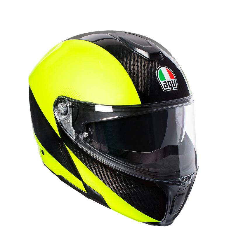 Comprar Agv Casco SportModular Hi vis carbon, giallo -Pinlock-