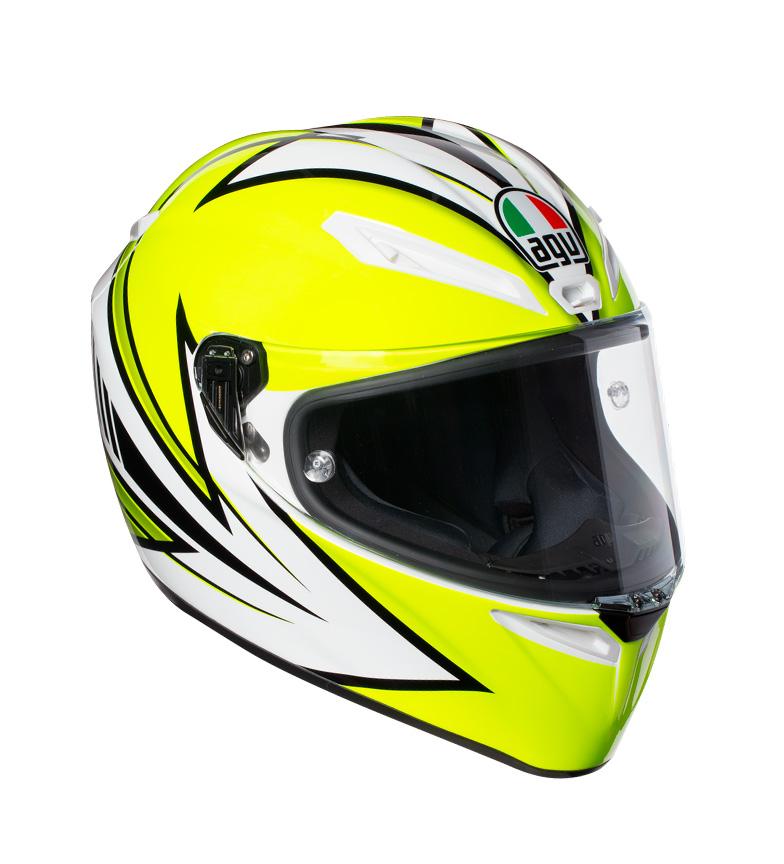 Comprar Agv Casco integral Veloce S Vitali 2016 yellow, white -Pinlock-