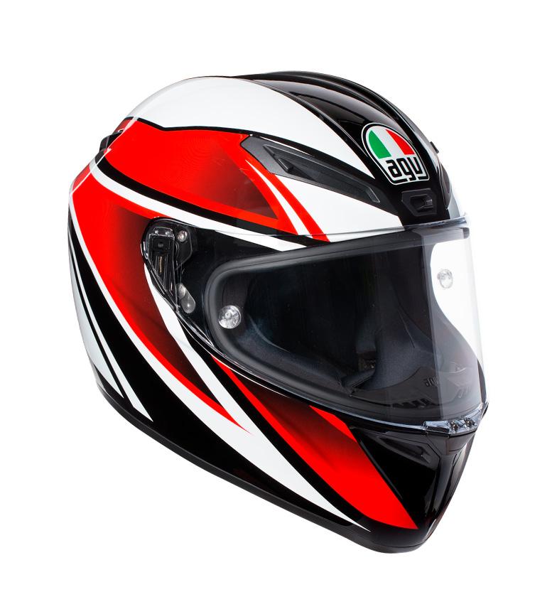 Comprar Agv Casco integral Veloce S Feroce black, red -Pinlock-