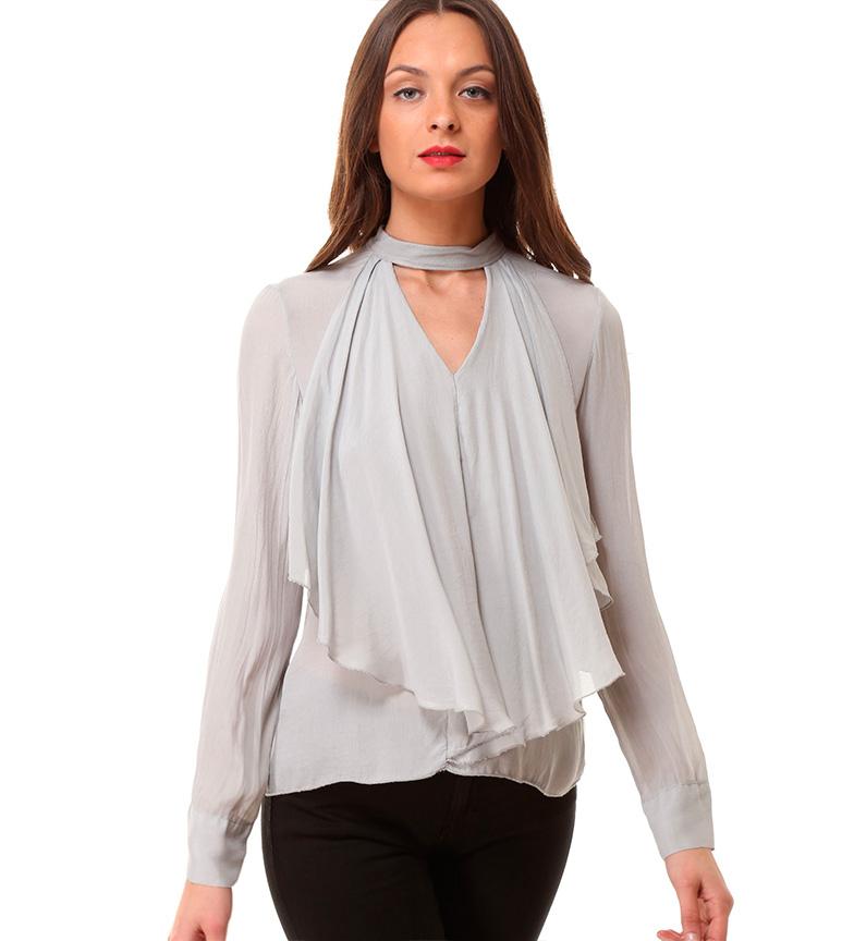 Comprar Almatrichi Blusa Marca gris