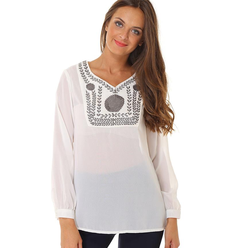 104f6fa3a44 Comprar Almatrichi Blusa Mark blanco - tu tienda online de Trekking