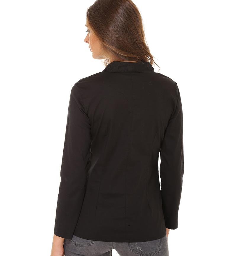 Almatrichi Camisa Franky negro, beige