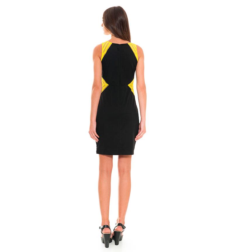 Almatrichi Vestido Allegra multicolor, negro
