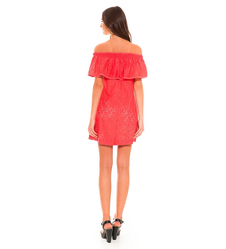 Almatrichi Vestido Britania coral