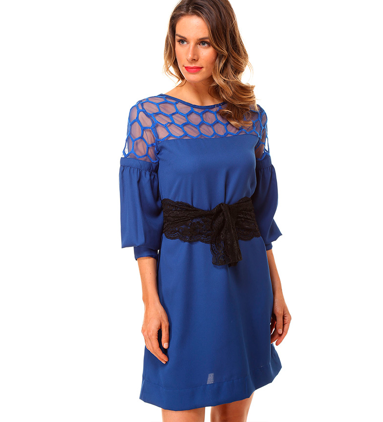 Vestidos azul royal comprar