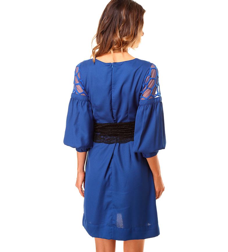 Almatrichi Vestido Enna azul royal