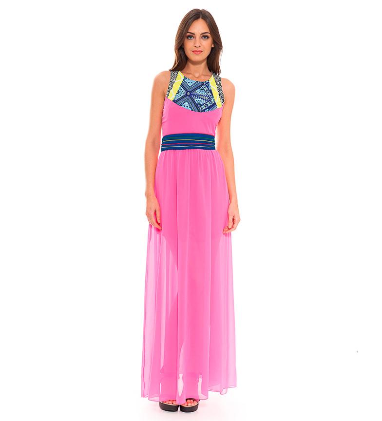 Almatrichi Vestido Hills rosa