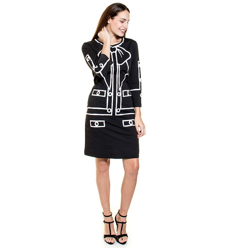 d1ae333cd Comprar Almatrichi Vestido Jerome negro - Tienda Esdemarca moda ...