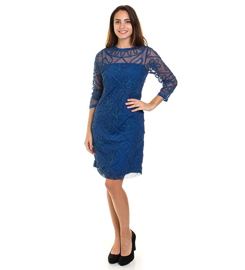 gratis frakt Manchester fabrikkutsalg billig pris Almatrichi Blå Kjole November billig pre-ordre bestille på nett YSfyjPOE