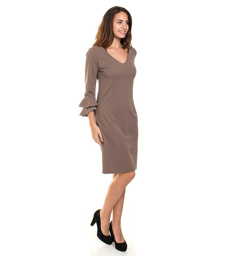 Almatrichi Vestido Roberta gris