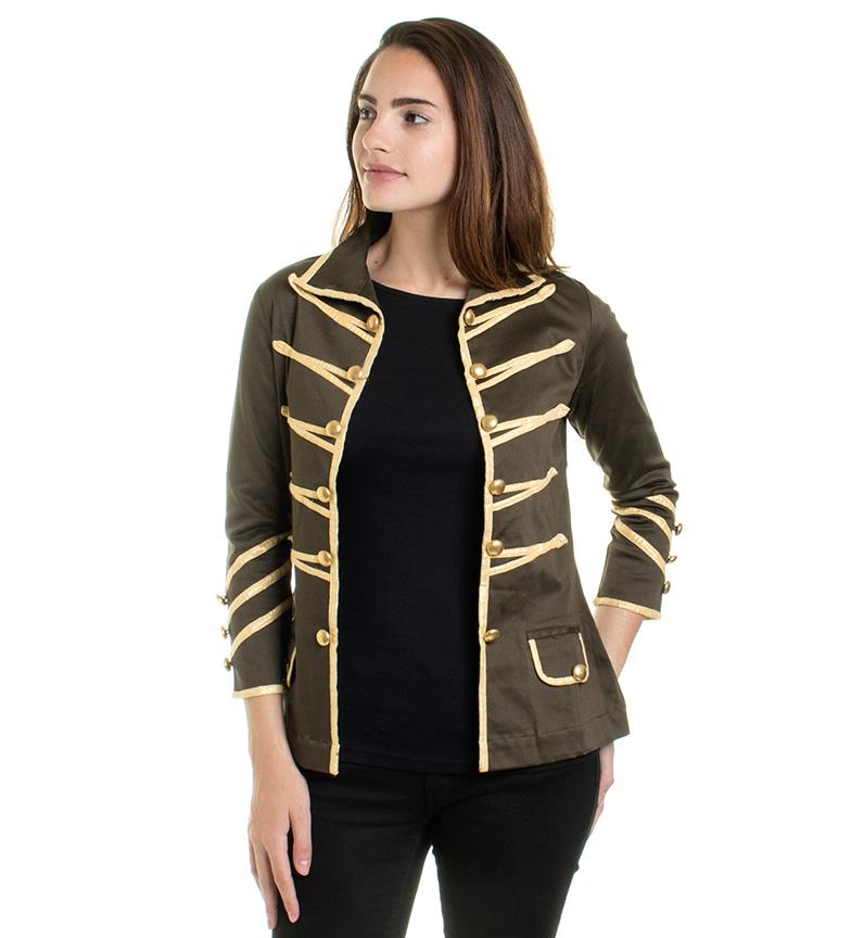 Comprar Almatrichi Jaqueta militar verde, ouro