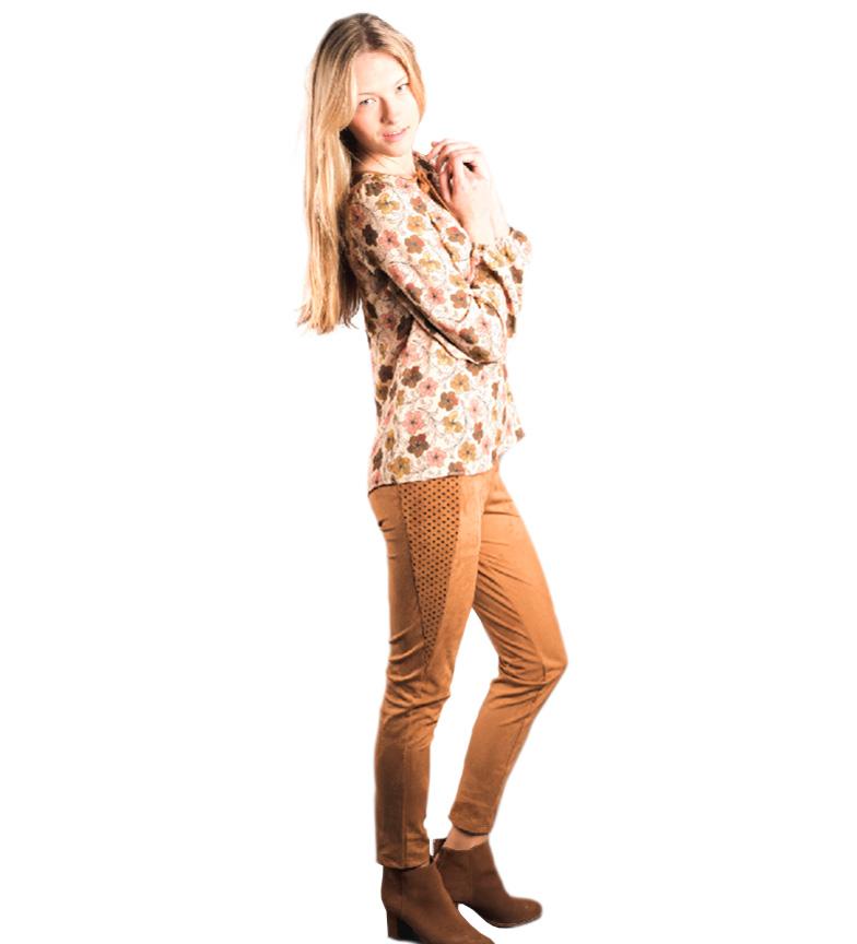Amarillolimon Blusa Sora Beige