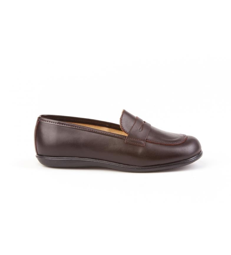 Comprar Angelitos Chaussures d'écolier en mocassin brun