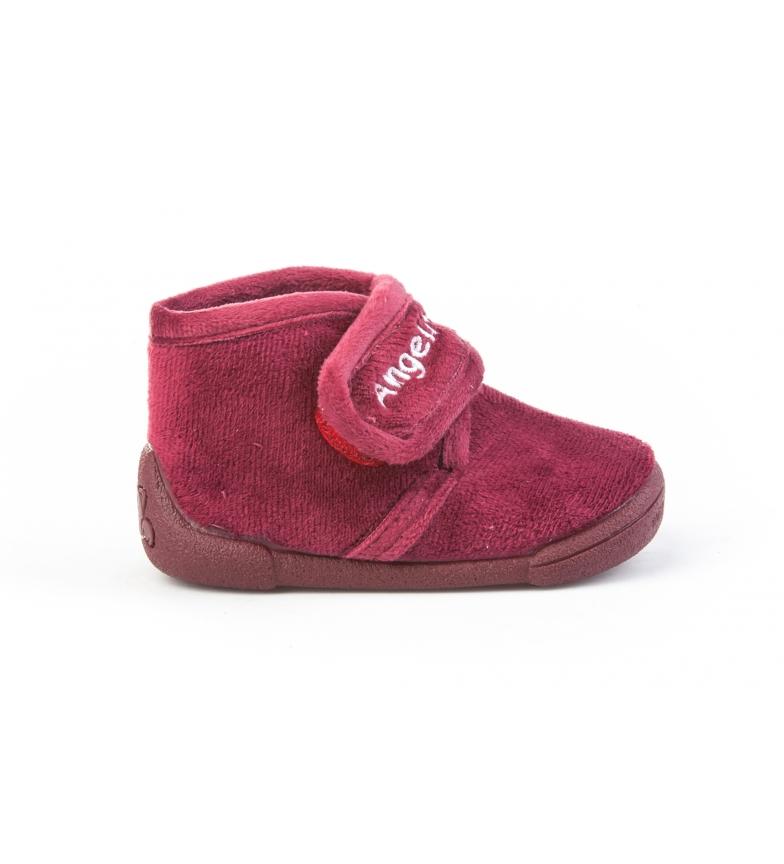 Angelitos House slippers 130 burgundy