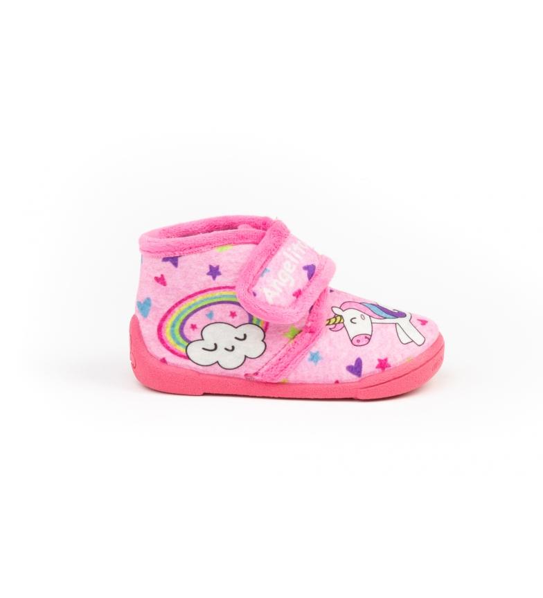 Angelitos House slippers 138 fuchsia