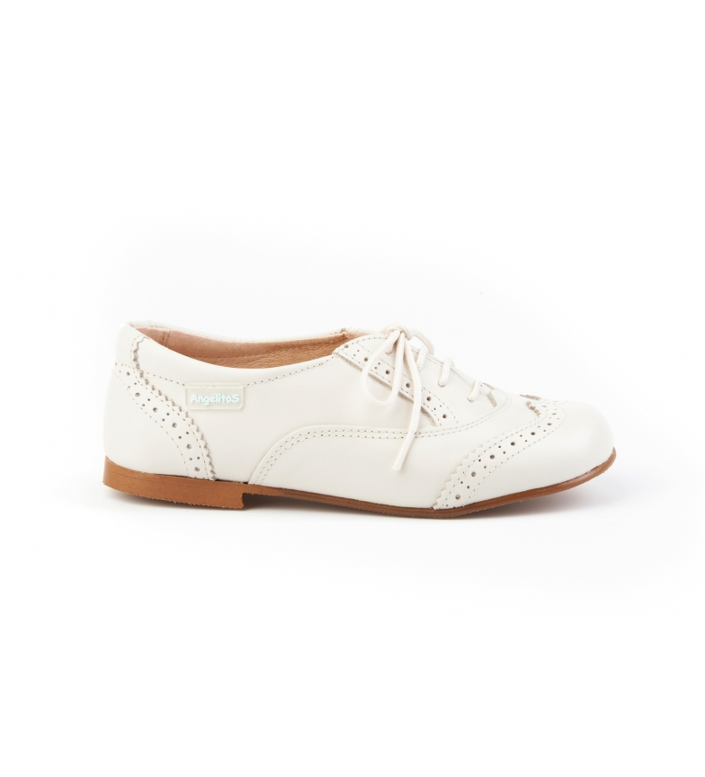 Comprar Angelitos Oxford leather Cord beige