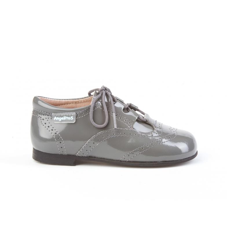Comprar Angelitos Zapatos de piel 1505 gris