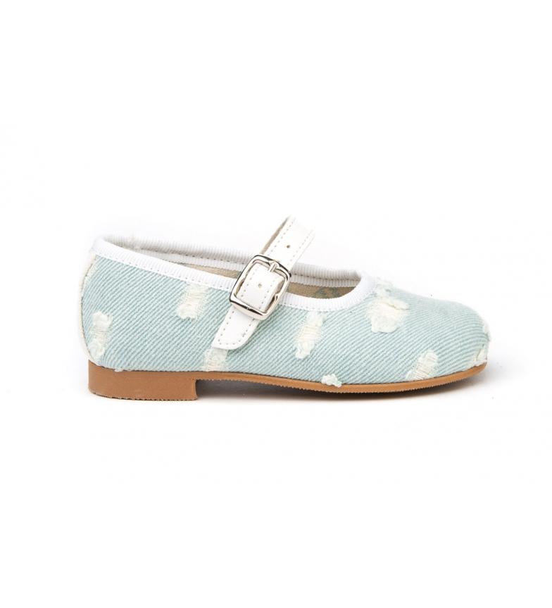 Comprar Angelitos Chaussure en denim bleu/Francesita