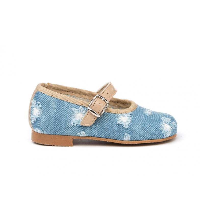 Comprar Angelitos Scarpa cowgirl blu / francese