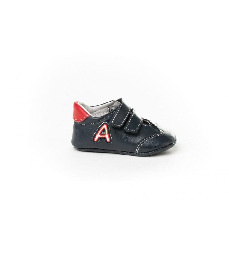 Comprar Angelitos Sapatos de bebé marinhos