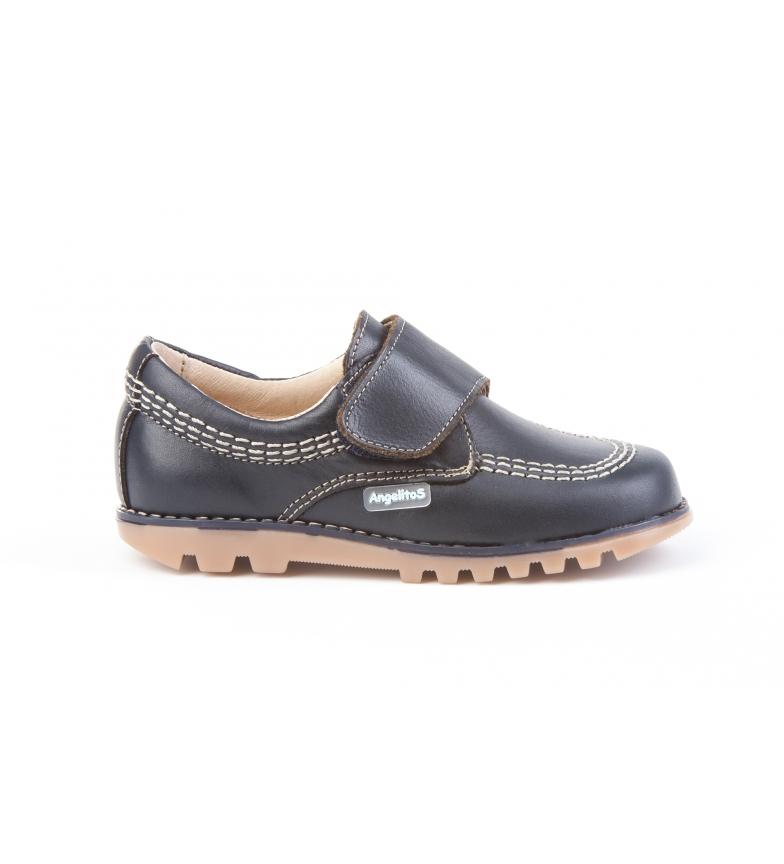 Comprar Angelitos Marine Velcro Sport Leather Blucher