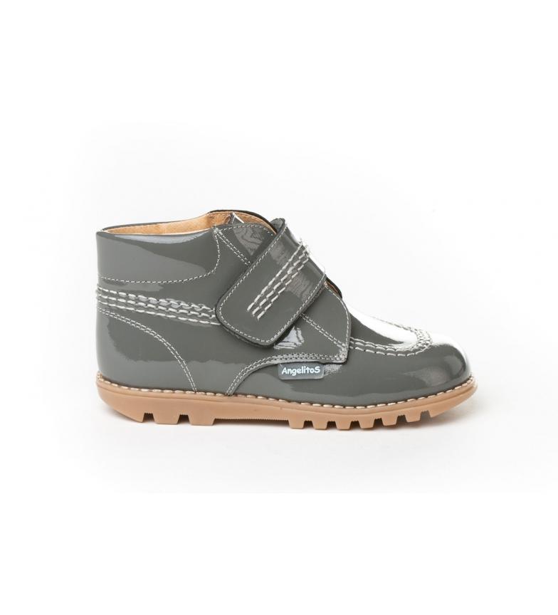 Comprar Angelitos Billy Charol grey leather boots