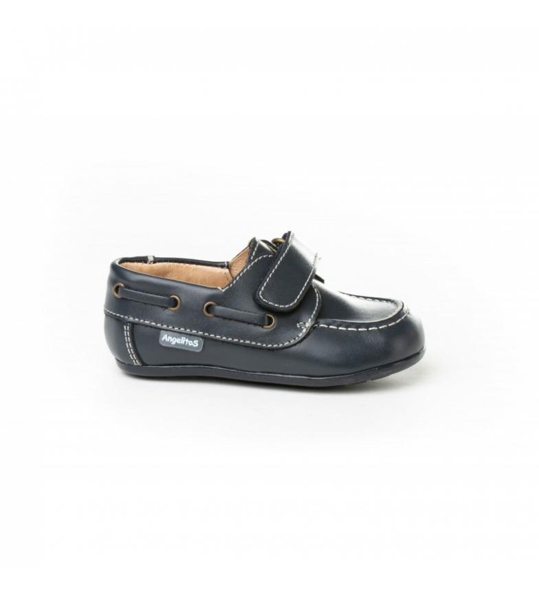 Comprar Angelitos Nautical leather Velcro marine