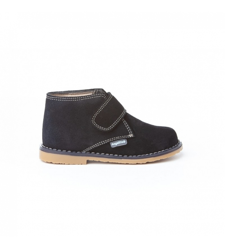 Comprar Angelitos Marine Velcro leather boots