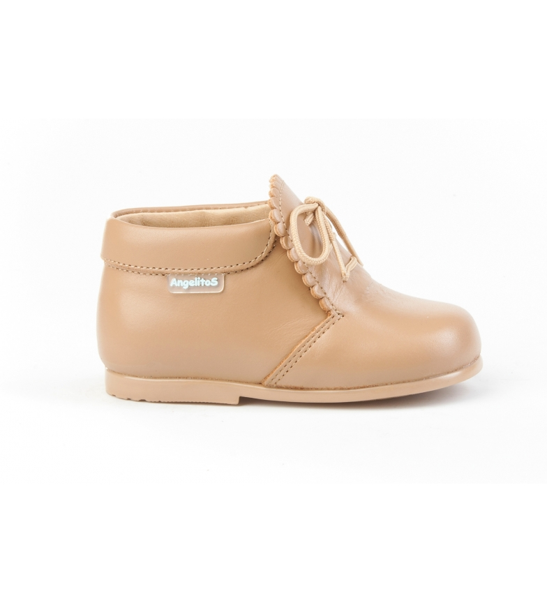 Comprar Angelitos Welsh camel leather boots